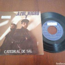 Discos de vinilo: AZUL Y NEGRO CATEDRAL DE SAL MERCURY 1982. Lote 179078910