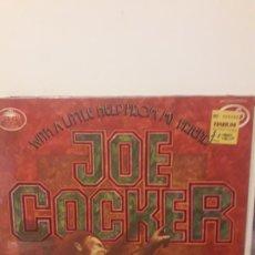 Discos de vinilo: JOE COCKER - WITH A LITTLE HELP FROM MY FRIENDS. Lote 179078985
