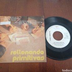 Discos de vinilo: LÍNEA DIRECTA RELLENANDO PRIMITIVAS SOLERA 1988. Lote 179079206