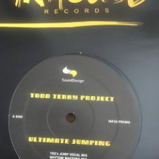 Discos de vinilo: TODD TERRY PROJECT ULTIMATE JUMPING. Lote 179079340