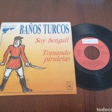 Discos de vinilo: BAÑOS TURCOS SOY BENGALÍ HORUS 1989. Lote 179079467