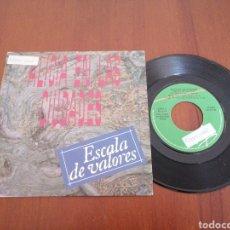 Discos de vinilo: ALICIA EN LAS CIUDADES ESCALA DE VALORES VIRGIN PROMO 1989. Lote 179080207