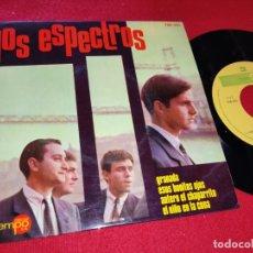 Discos de vinilo: LOS ESPECTROS GRANADA/ESOS BONITOS OJOS/EL NIÑO EN LA CUNA +1 EP 1965 TEMPO EXCELENTE ESTADO. Lote 179080241