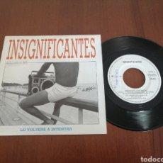 Discos de vinil: INSIGNIFICANTES LO VOLVERÉ A INTENTAR TWINS 1991. Lote 179080925