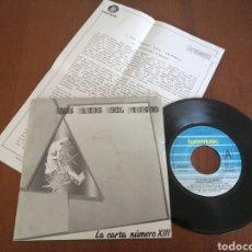 Discos de vinilo: LOS AMOS DEL MUNDO LA CARTA NÚMERO XIII FONOMUSIC 1987. Lote 179082205