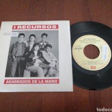 Discos de vinilo: SON RECURSOS AGARRADOS DE LA MANO EMI 1989. Lote 179083696
