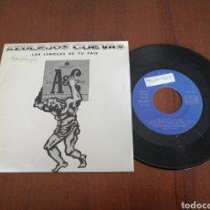 Discos de vinilo: AZULEJOS CUEVAS LAS LENGUAS DE TU PAÍS PROMO ÁREA CREATIVA 1991. Lote 179084112