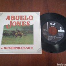 Discos de vinil: ABUELO JONES METROPOLITANO 3 CIPRESES 1992. Lote 179085602