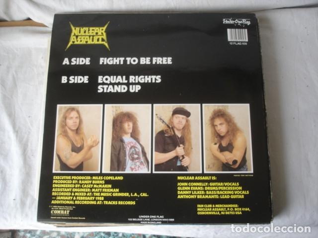 Discos de vinilo: Nuclear Assault Fight To Be Free - Foto 2 - 179089905