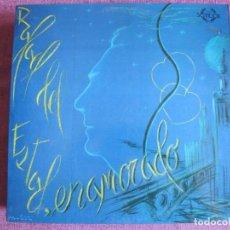 Discos de vinilo: LP - SEVILLANAS - RAFAEL DEL ESTAD - ENAMORADO (SPAIN, COLISEUM 1987, PORTADA DOBLE). Lote 179090255