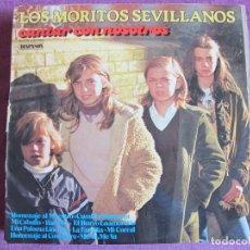 Discos de vinilo: LP - SEVILLANAS - LOS MORITOS SEVILLANOS - CANTAR CON NOSOTROS (SPAIN, DIAPASON 1979). Lote 179090830