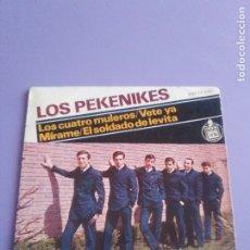 Discos de vinilo: MUY RARO EP 1964.LOS PEKENIKES.LOS CUATRO MULEROS/VETE YA/MIRAME+1JUAN PARDO. VOZ.HH 17 285.HISPAVOX. Lote 179091928