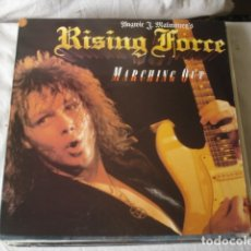 Discos de vinilo: YNGWIE J. MALMSTEEN'S RISING FORCE MARCHING OUT. Lote 179092106