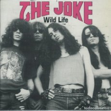 Discos de vinilo: THE JOKE, WILD LIFE (EP EL PATO 1991) LETRAS+HOJA PROMO+(OBSEQUIO LETRAS LP). Lote 179093273