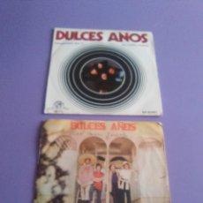 Discos de vinilo: LOTE 2 SINGLES DULCES AÑOS. ALMUDENA/VOY BUSCANDO Y PENSANDO EN TI/EL LOBO FEROZ. Lote 179093787