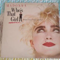 Discos de vinilo: MADONNA - WHO'S THAT GIRLS. BSO. Lote 179094532
