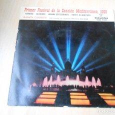 Discos de vinilo: RAMON CALDUCH - FESTIVAL MEDITERRANEA -, EP, MARINERO + 3, AÑO 1959. Lote 179096776