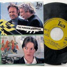 Discos de vinilo: STANLEY MAXFIELD ORCHESTRA - THE POSEIDON ADVENTURE - SINGLE TAM 1973 JAPAN (EDICIÓN JAPONESA) BPY. Lote 179097543