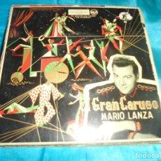 Discos de vinilo: EL GRAN CARUSO. MARIO LANZA. EP. RCA, 1958. Lote 179098193