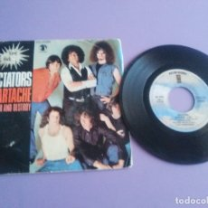 Discos de vinilo: JOYA/MUY RARO. SINGLE PUNK ROCK DICTATORS.HEARTACHE/SEARCH AND DESTROY.ASYLUM45 1596.SPAIN 1977.. Lote 179099271