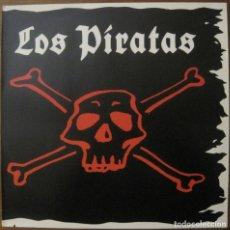 Discos de vinilo: LOS PIRATAS LP FIRMADO POSIBLEMENTE POR IVAN FERREIRO. Lote 179100243