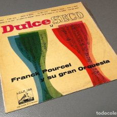 Discos de vinilo: NUMULITE LP078 DULCE Y SECO FRANCK POURCEL Y SU GRAN ORQUESTRA. Lote 179100340