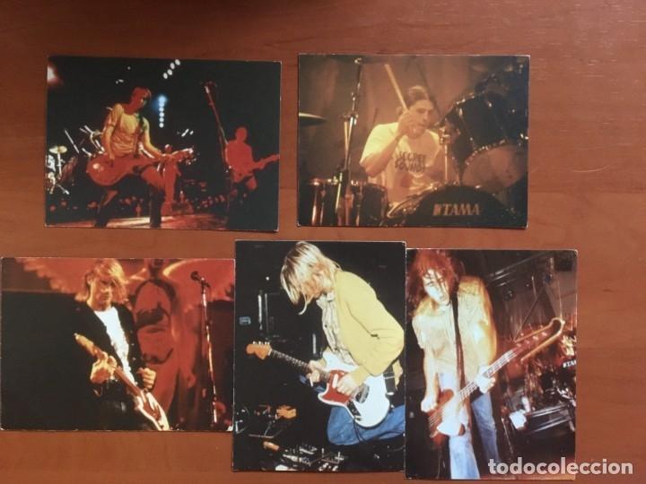 5 POSTALES DE NIRVANA (Música - Discos de Vinilo - EPs - Rock & Roll)