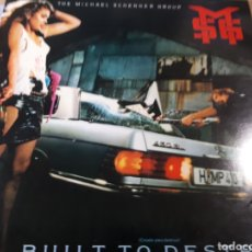 Discos de vinilo: THE MICHAEL SCHENKER GROUP BUILT TO DESTROY. Lote 179108526