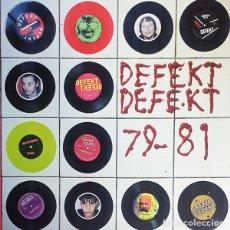 Discos de vinil: DEFEKT DEFEKT 79-81 LP . PUNK ROCK AFTER NEW WAVE COOL JERKS M.O.T.O. NASTIES. Lote 179109521