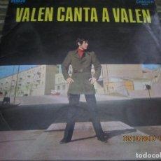 Discos de vinilo: VALEN CANTA A VALEN LP - ORIGINAL ESPAÑOL - RCA CAMDEN 1969 - MONOAURAL -. Lote 179113078