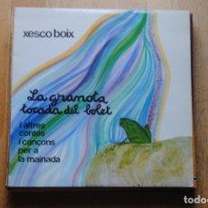 Discos de vinilo: XESCO BOIX. LA GRANOTA TOCADA DEL BOLET. PDI 1984. LP . Lote 179114345