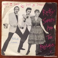 Discos de vinilo: ROCKY SHARPE AND THE REPLAYS. RAMA LAMA DING DONG. SG.. Lote 179118453