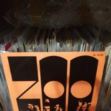 Discos de vinilo: ZOO / MEMPHIS TRAIN / EDICIÓN ESPAÑOLA/ MOVIEPLAY 1969. Lote 179120787