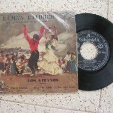 Discos de vinilo: EP VINILO DE RAMON CALDUCH CON ACOMPAÑAMIENTO DE ORQUESTA. Lote 179122071
