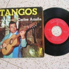 Discos de vinilo: DISCO DE TANGOS ,CARLOS ACUÑA. Lote 179122090