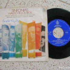 Discos de vinilo: DISCO SINFONIAS WALDO DE LOS RIOS ,MOZART , BRAMS. Lote 179122246