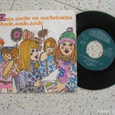 Discos de vinilo: DISCO DE VILLANCICOS ,CORO Y RONDALLA ALEGRIA. Lote 179122373
