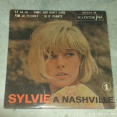 Discos de vinilo: SYLVIE VARTAN A NASHVILLE: LA LA LA + 3 (RCA VICTOR FRANCESA 1964). Lote 179126817