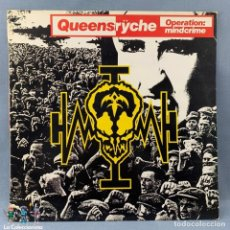 Discos de vinilo: QUEENSRŸCHE - OPERATION MINDCRIME - 1988 - EMI - CAPITAL RECORDS - ESPAÑA -HISPAVOX S.A.. Lote 179127862