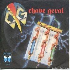 Discos de vinilo: CHAVE GERAL / ESQUEÇA QUE TE AMEI / CENSURADO / VEGETARIANA (EP BRASILEÑO 1986). Lote 179128715