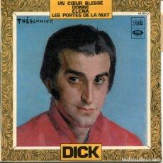 Discos de vinilo: DICK RIVERS / DONNE / ELENA + 2 (EP FRANCES). Lote 179128991