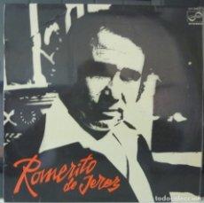 Discos de vinilo: ROMERITO DE JEREZ// FANDANGOS DE LA SIERRA+OTRAS//1977 (VG VG). LP. Lote 179131876