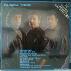 Discos de vinilo: RUMBA TRES// EXITOS RUMBAS DISCOTECA// 1988 // (VG VG). LP. Lote 179132021