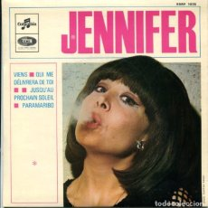Discos de vinilo: JENNIFER / VIENS / QUI ME DELIVRERA DE TOI + 2 (EP FRANCES). Lote 179132091