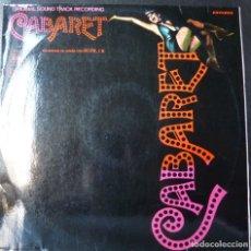 Discos de vinilo: CABARET //1972 // DISCOLIBRO// (VG VG). LP. Lote 179136762