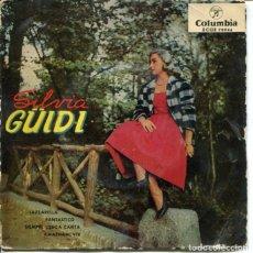 Discos de vinilo: SILVIA GUIDI / LAZZARELLA (MUCHAHCITA) / FANTASTICO / SIEMPRE LISBOA CANTA + 1 (EP 1959). Lote 179137411