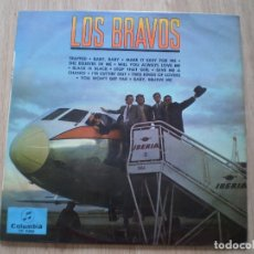Discos de vinilo: LP. LOS BRAVOS. ORIGINAL DE 1966. OCASION. Lote 179137443