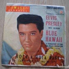 Discos de vinilo: ELVIS PRESLEY. ROCK A HULA BABY. ORIGINAL DE 1961. OCASION. Lote 179138258