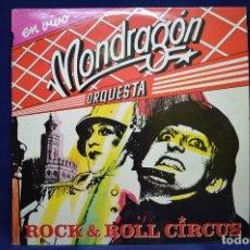 Discos de vinilo: ORQUESTA MONDRAGÓN - ROCK AND ROLL CIRCUS - 2 LP. Lote 199156522