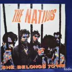 Discos de vinilo: THE NATIVOS - SHE BELONGS TO ME - LP. Lote 179142732
